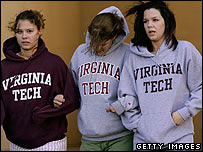 Students at Virginia Tech
