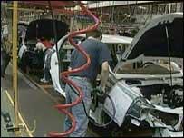 Worker at Vauxhall's Ellesmere Port plant