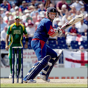 Ian Bell in action with the bat