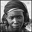 Imagen de una refugiada sudanesa