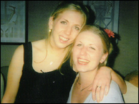 Lucie Blackman (left) and her sister Sophie