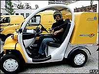 New electric vehicle for La Poste