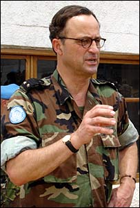 Gen Patrick Cammaert in DRC (photo: Monuc)