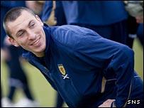 Hibs and Scotland star Scott Brown