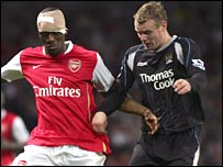 Vassiriki Diaby and Michael Ball