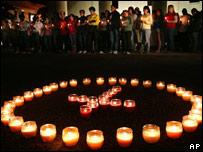 Conmemoración por las víctimas de Virginia Tech en la Universidad de Charleston