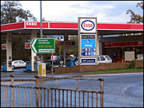 Heathhall filling station