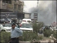 View from one of the attacks