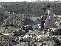 Afghan civilians are site of Nato attack