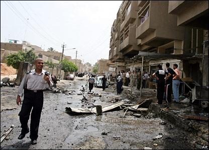View of Karrada bomb site