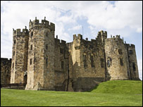 Harry Potter location Alnwick Castle