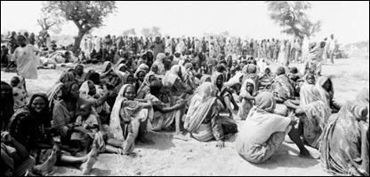 Fotografía realizada por Don McCollin en Darfur