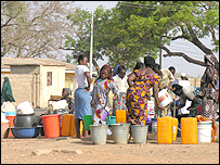 Public water tap