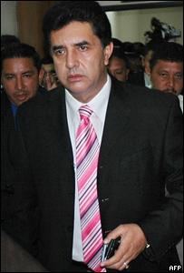 Jorge Cevallos, presidente del Congreso de Ecuador