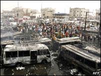 Violencia en Irak.