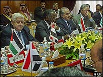 Arab League foreign ministers