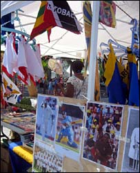 World Cup cricket merchandise