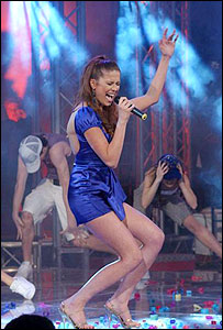 FYR Macedonia singer Karolina Goceva
