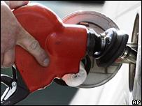 car filling petrol