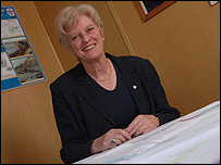 Phyl Rendell, Falkland government's director of minerals and agriculture.