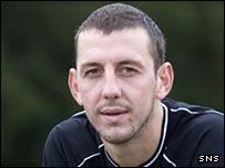 Kilmarnock goalkeeper Graeme Smith