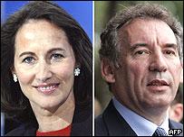 Ségolène Royal y François Bayrou