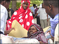 Somali woman injured in Mogadishu