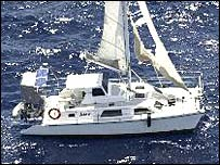 The Kaz II yacht (Image: Queensland Police)