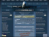 Airliners website