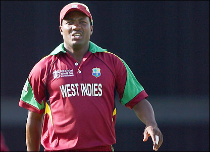 Brian Lara at the 2007 World Cup