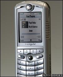Motorola handset