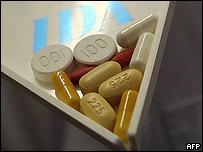 Medicamentos para tratamiento del SIDA.