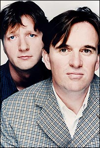 Glenn Tilbrook and Chris Difford (right) of Squeeze