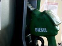 Surtidor de diesel