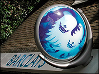 The front of a Barclays bank