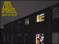 Arctic Monkeys Favourite Worst Nightmare CD cover