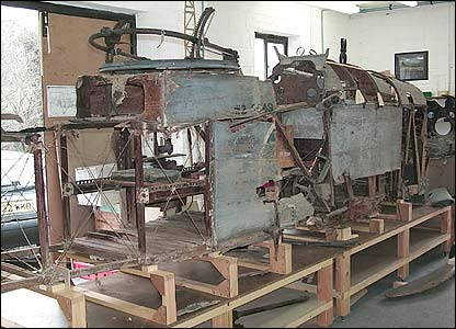 The DH9 under restoration in the UK