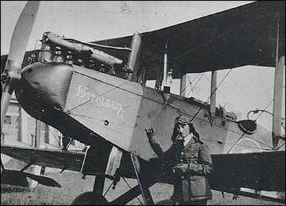 A DH9 during World War One