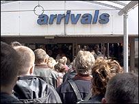 Airport arrivals (generic)