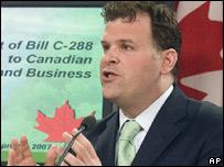 Canada's Environment Minister, John Baird