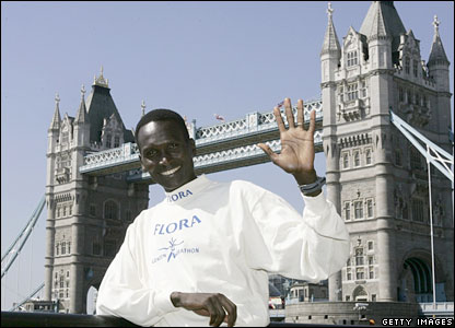 Paul Tergat in London