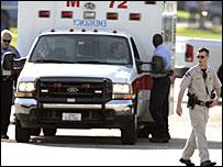 Paramedics at Johnson Space Centre