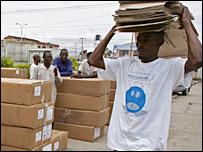 Nigeria ballots