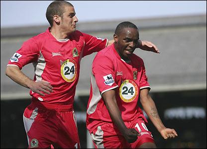 McCarthy celebrates his goal