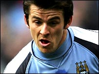 Manchester City midfielder Joey Barton