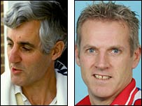 Mike Brearley and Peter Moores