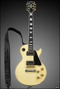 The Edge's Gibson Les Paul guitar