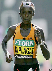 Dutch runner Kiplagat