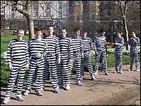 The team of 'convicts'