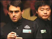 Ronnie O'Sullivan and Ding Junhui